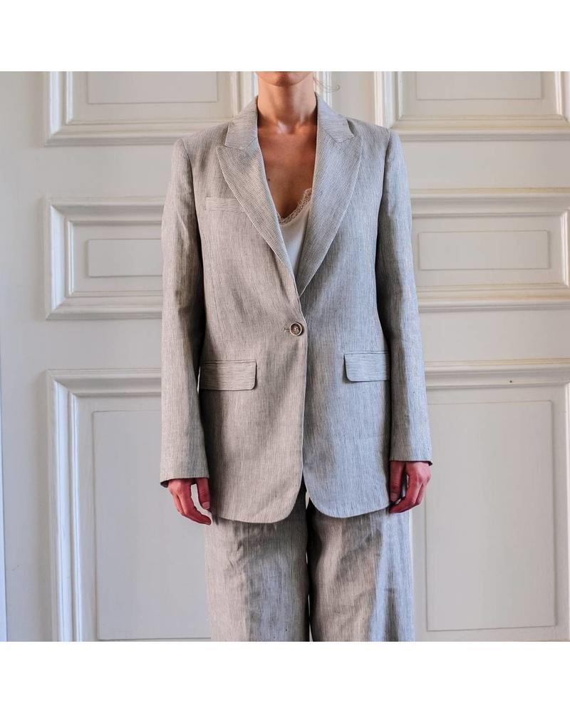Julie Fagerholt Janko jacket - Grey