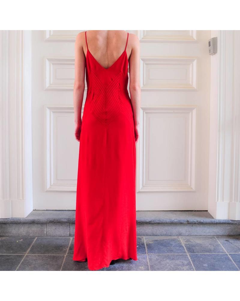 Anine Bing Sophia dress - Red