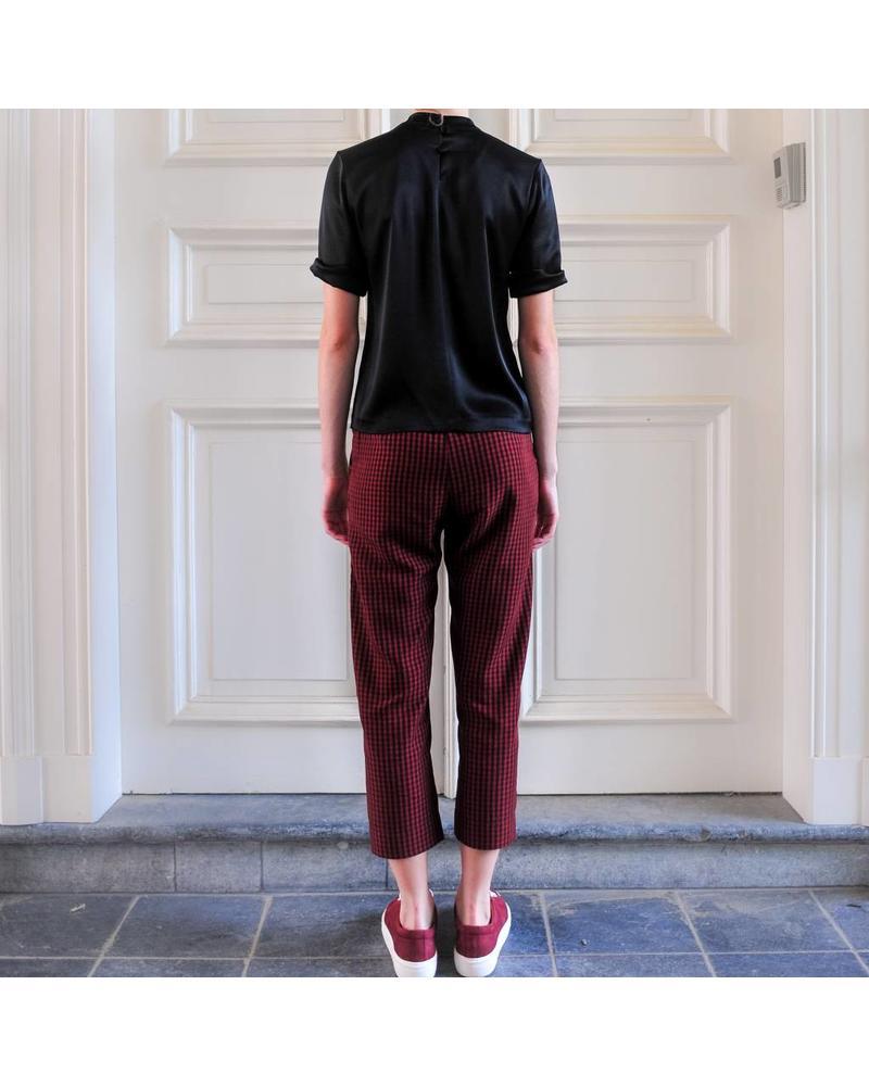 Nanushka Harlem Pants - Red Check