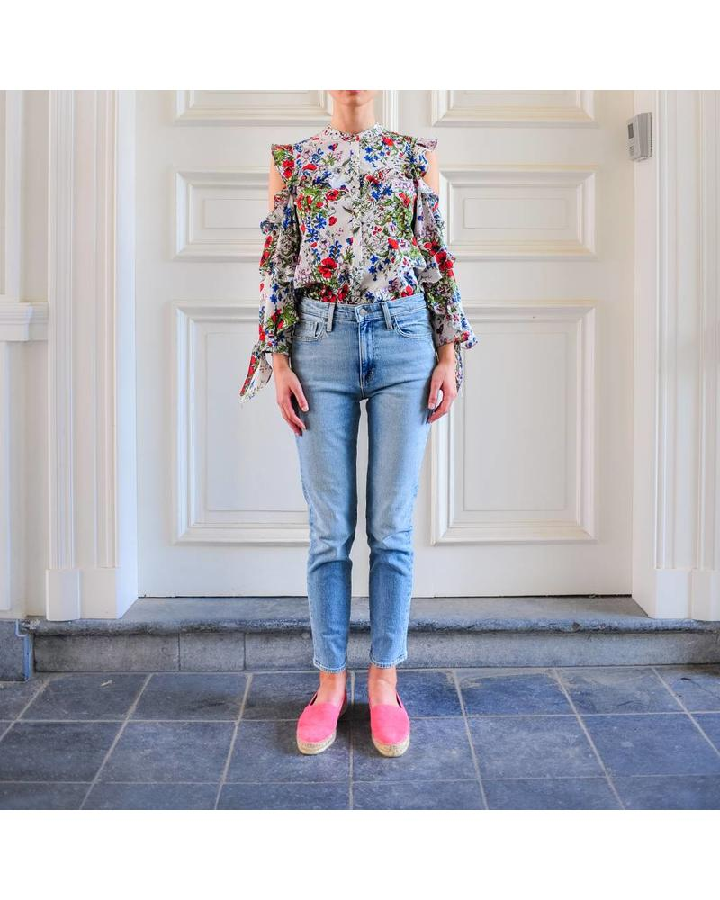 Julie Fagerholt Maiko shirt - Red Flower