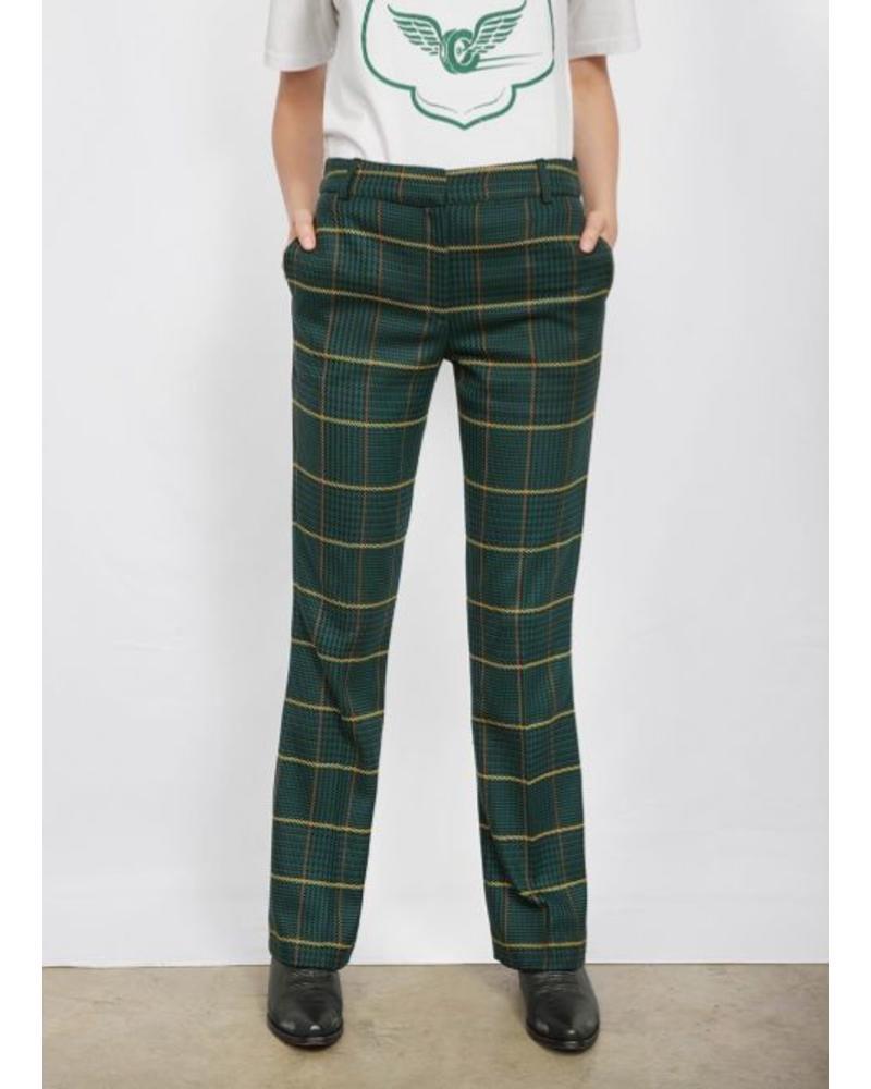 Anine Bing Cindy pants - Green Plaid