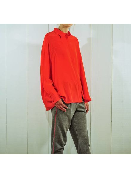 Margaux Lonnberg Rose chemise - Red