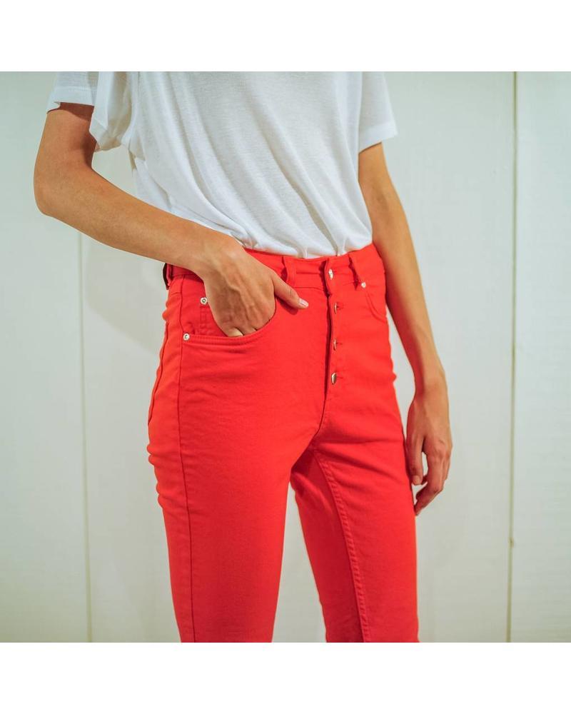 Anine Bing Frida jeans - Red