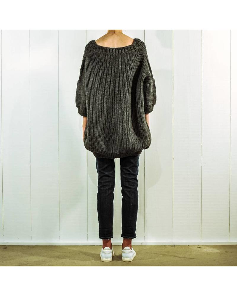 I Love Mr Mittens Jacqueline wool - Charcoal