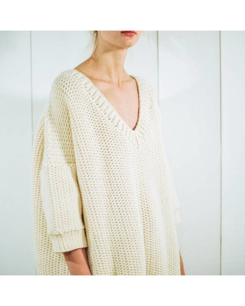 I Love Mr Mittens Jacqueline wool - Cream
