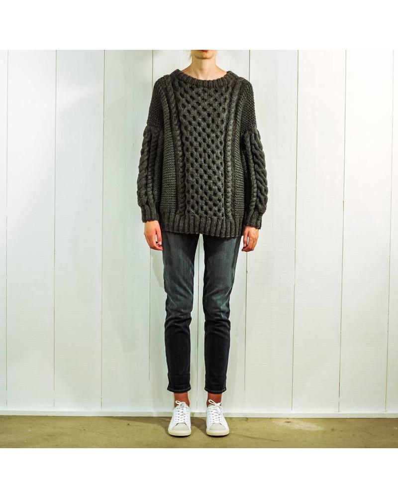 I Love Mr Mittens Tali wool - Charcoal