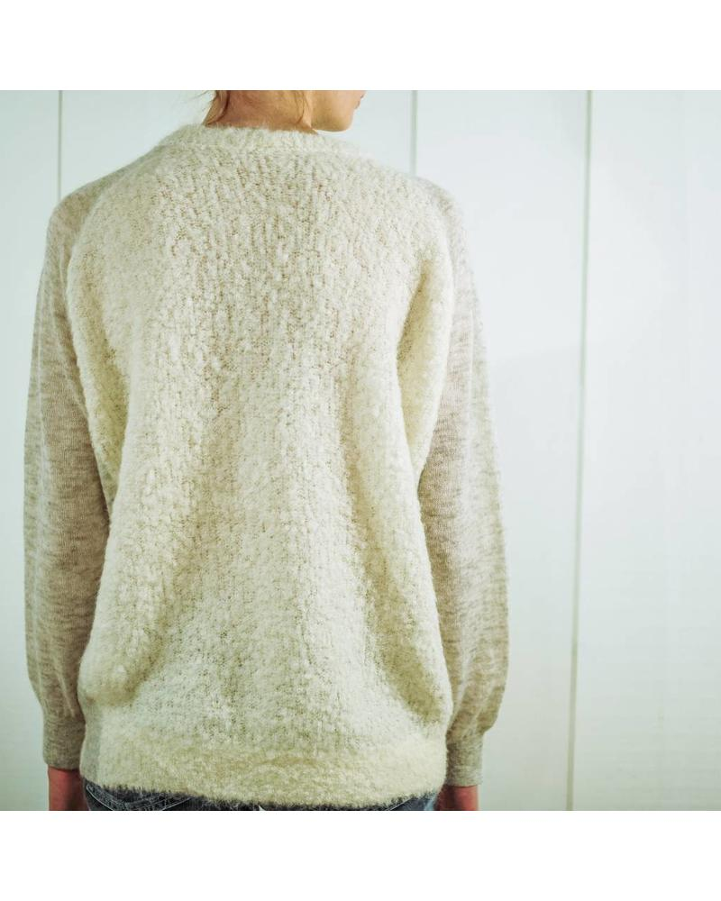 CT Plage Alpaca knitted pullover - White