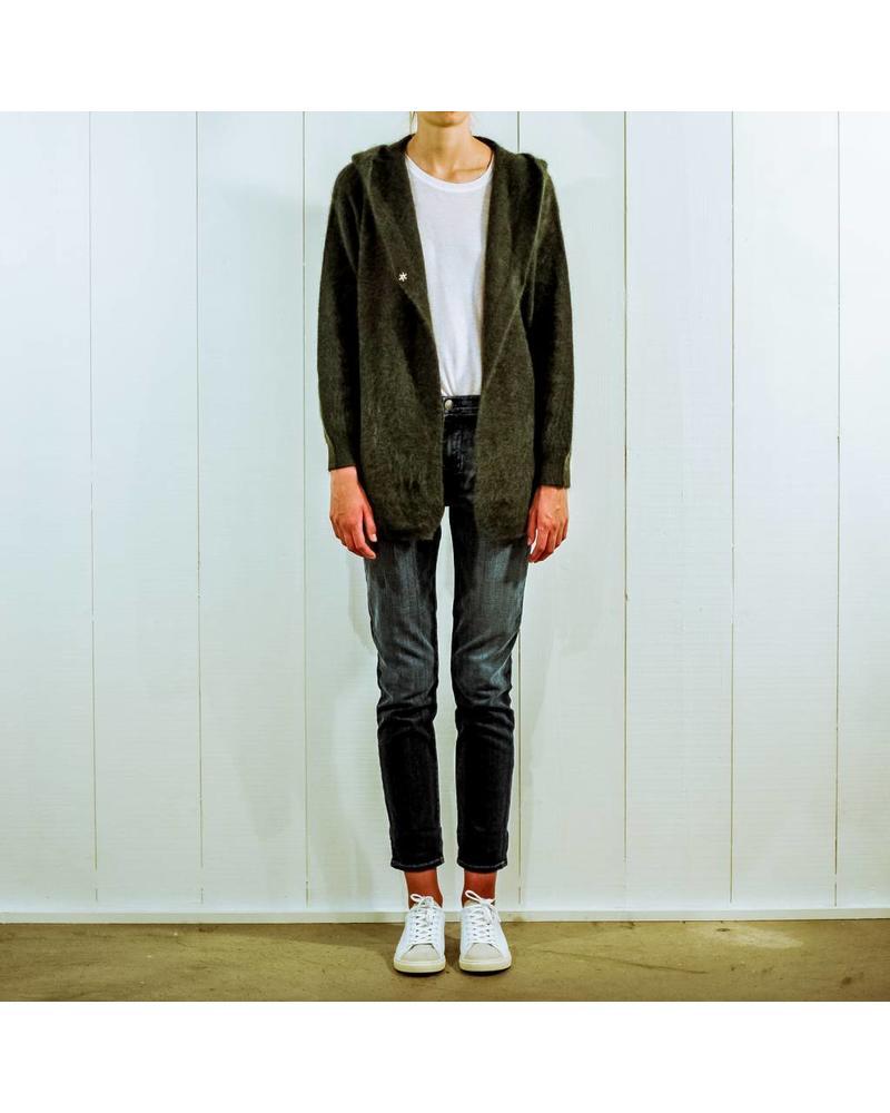 CT Plage Raccoon hoodie - Khaki