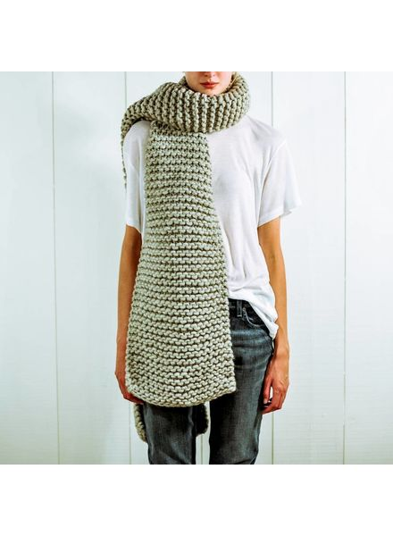 I Love Mr Mittens Billie scarf - Light Grey