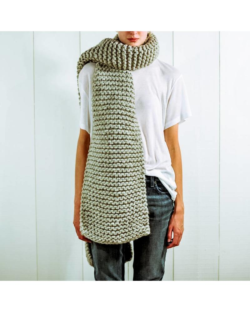 I Love Mr Mittens Billie scarf - Light Grey