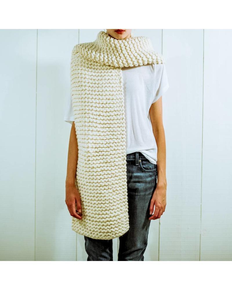 I Love Mr Mittens Billie scarf - Cream