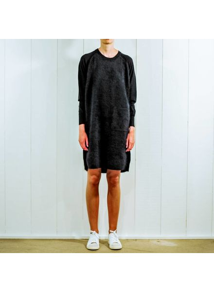 CT Plage Raccoon knitted dress - Navy