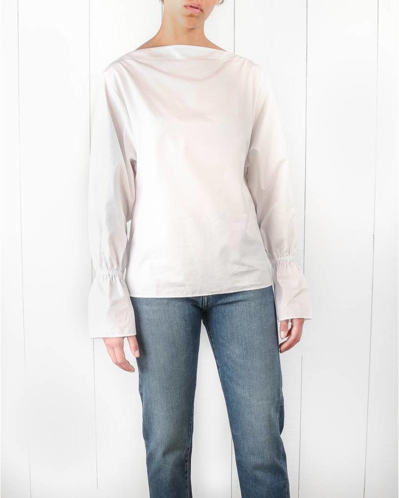 Totême Narbonne top - White