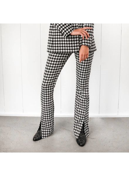 Anine Bing Jocelyn trousers - Houndstooth