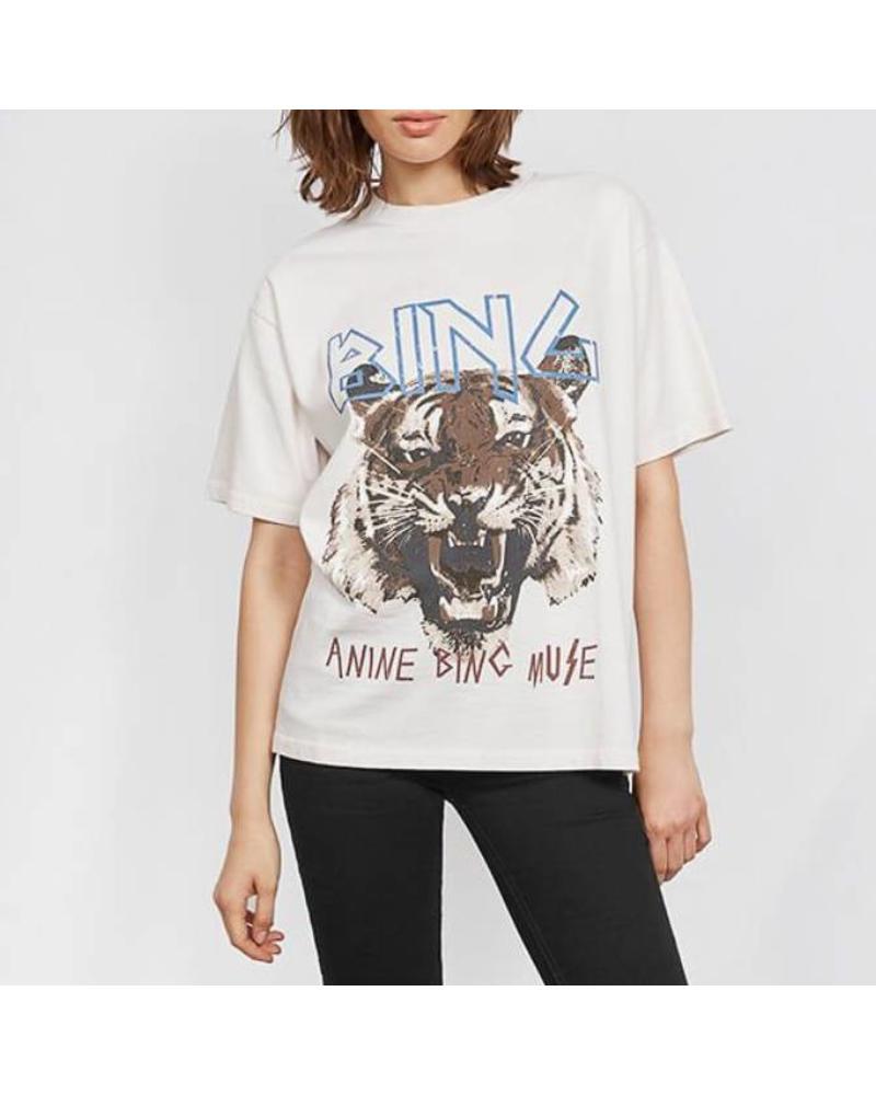 Anine Bing Tiger tee - White