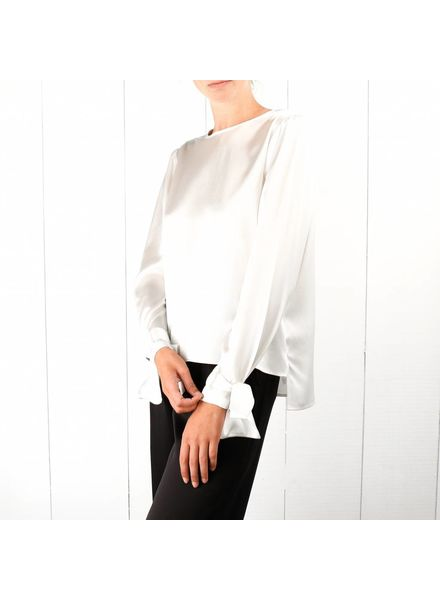 Kelly Love Soft cloud blouse - White