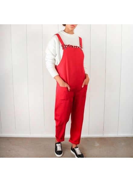 Matin Classic long Overalls - Red