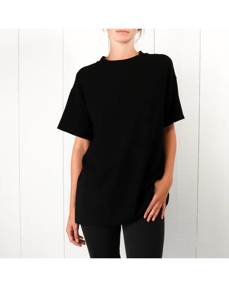 Margaux Lonnberg Lewis T-shirt - Black wool