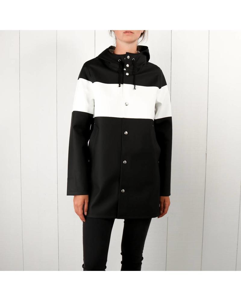 Stutterheim Stockholm Stripe - Black/White