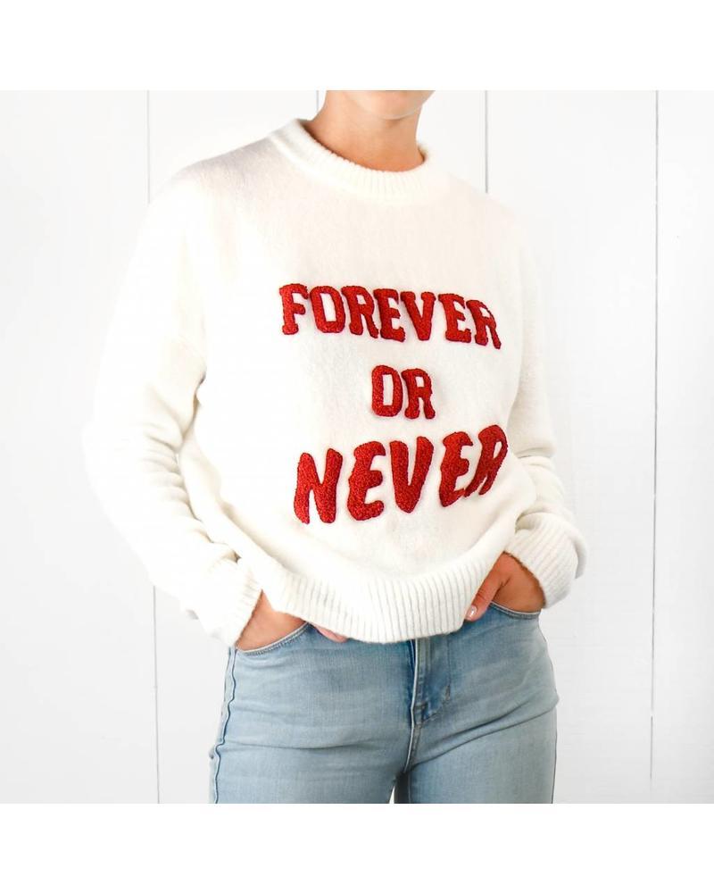 SET Forever or Never - White