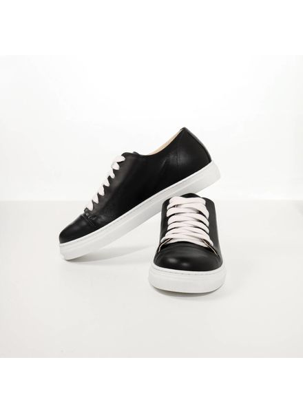 N°8 Antwerp Basic sneaker - Black