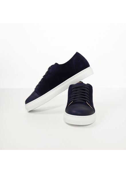 N°8 Antwerp Basic sneaker - Navy