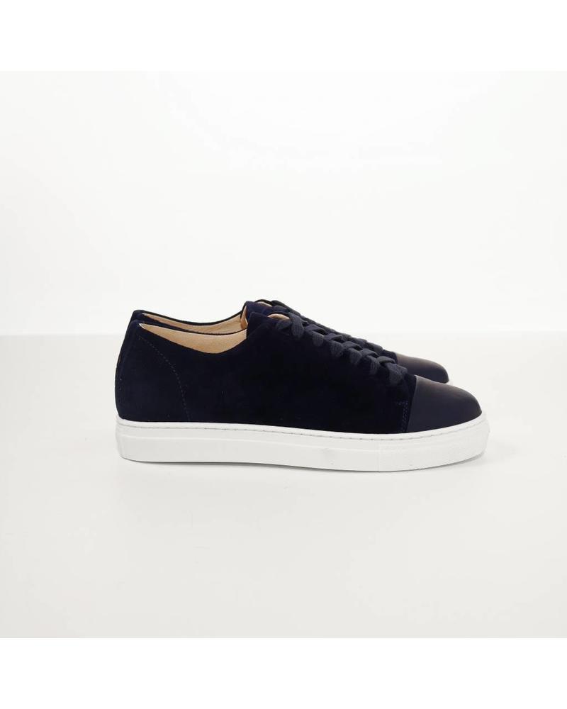 N°8 Antwerp Basic sneaker - Navy