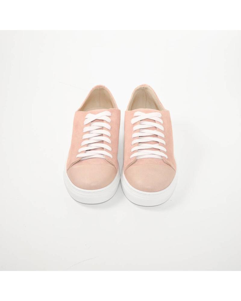 N°8 Antwerp Basic sneaker - Baby Pink