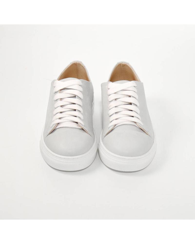 N°8 Antwerp Basic sneaker - Misty Grey
