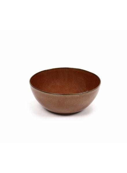 Anita Le Grelle for Serax Bowl L D15 H6 - Rust
