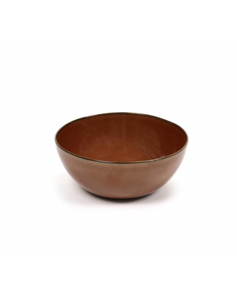 Anita Le Grelle for Serax Bowl L - Rust