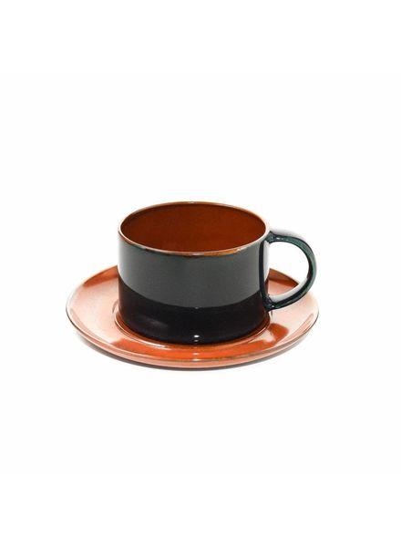 Anita Le Grelle for Serax Koffietas D8 - Rust/Dark Blue