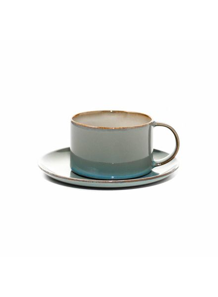 Anita Le Grelle for Serax Koffietas D8 - Misty Grey / Smokey Blue