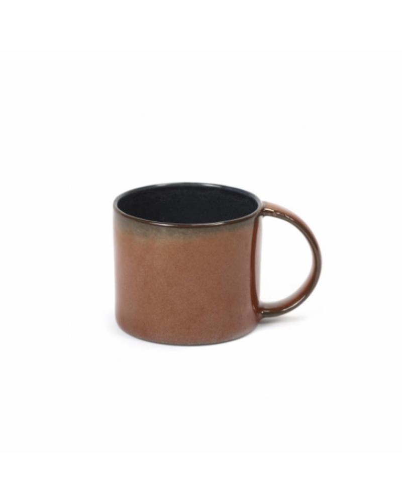Anita Le Grelle for Serax Espresso tas D6 - Dark Blue/Rust