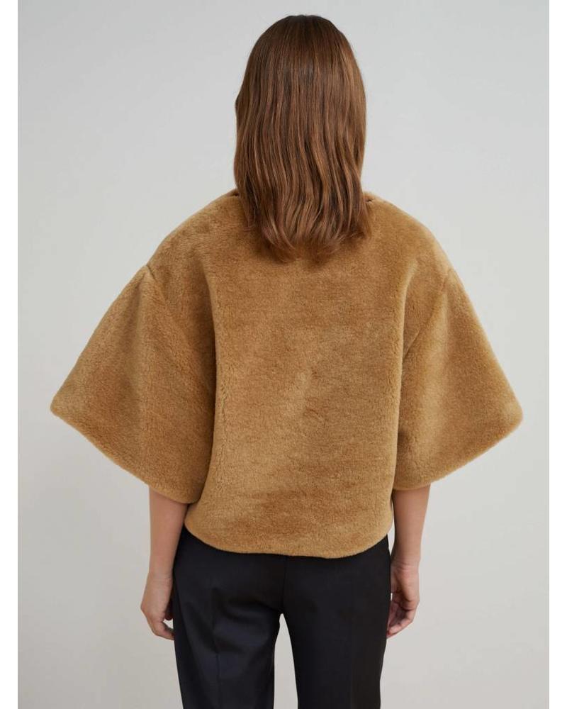 Totême Azzuro faux fur - Camel