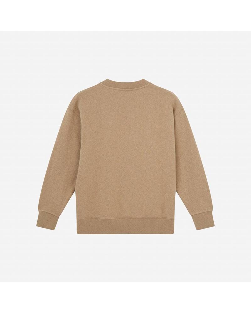 Maison Kitsuné Sweatshirt Rebus - Beige