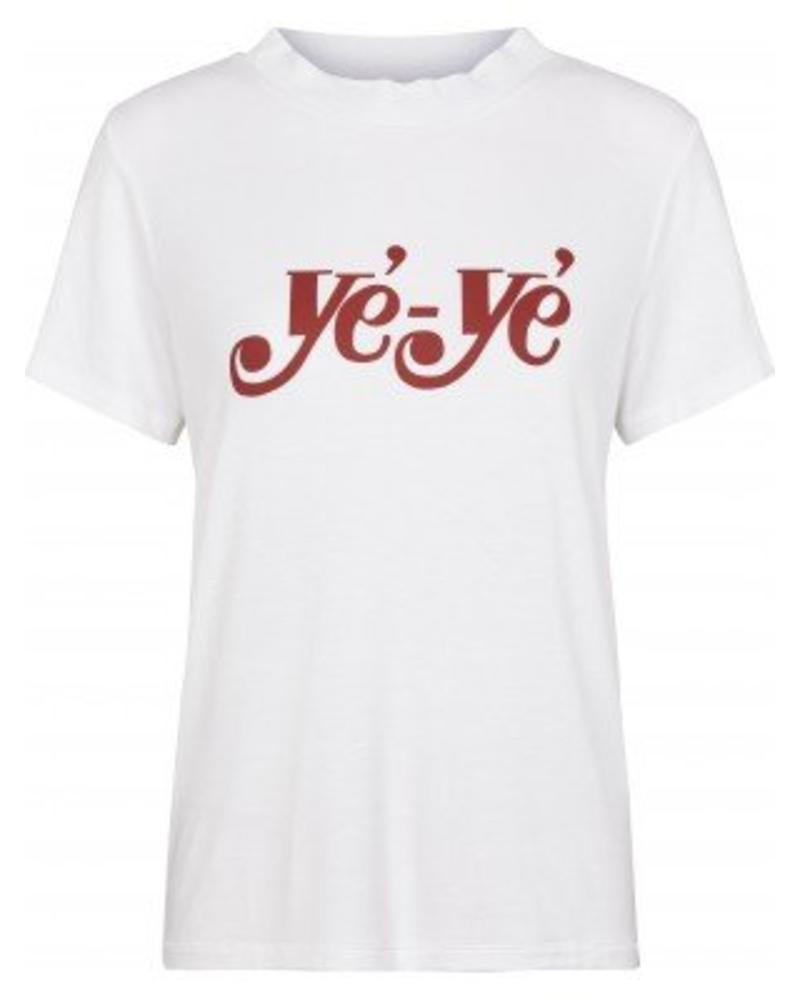Just Female Ye Ye Tee - Optical White