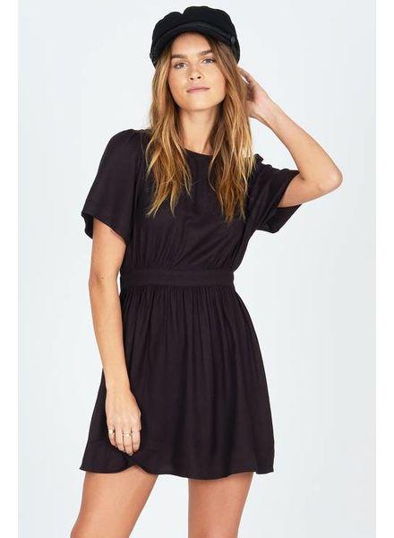 Amuse Society Say Hello Dress - Black