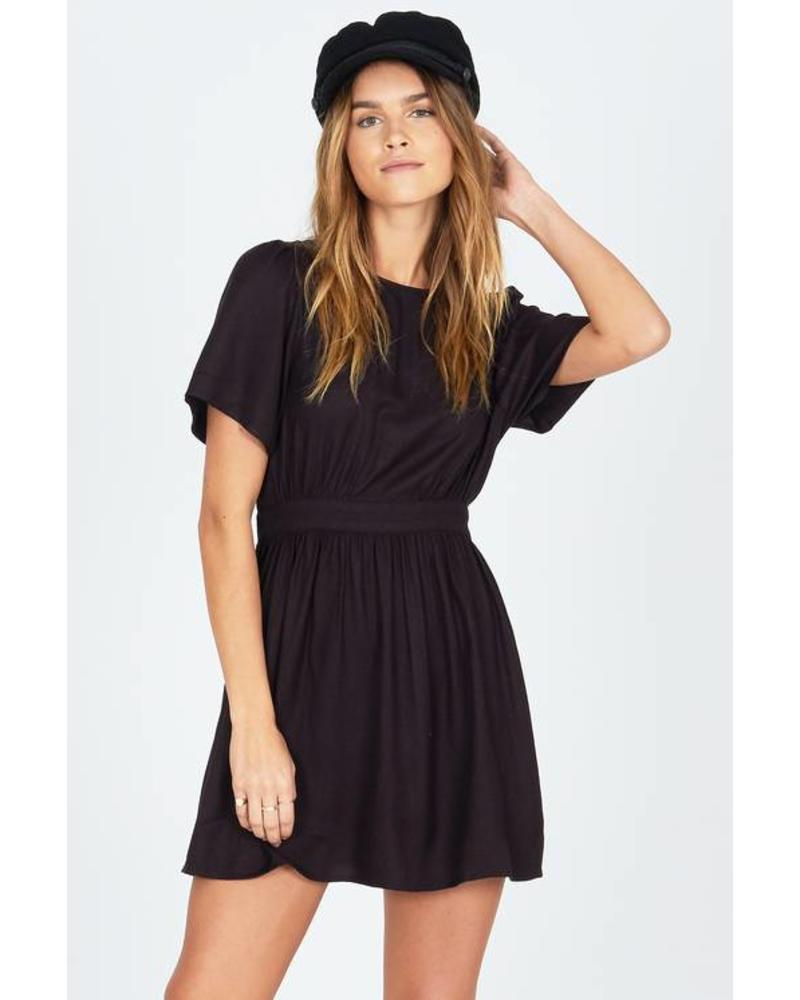 Amuse Society Say Hello Dress - Black