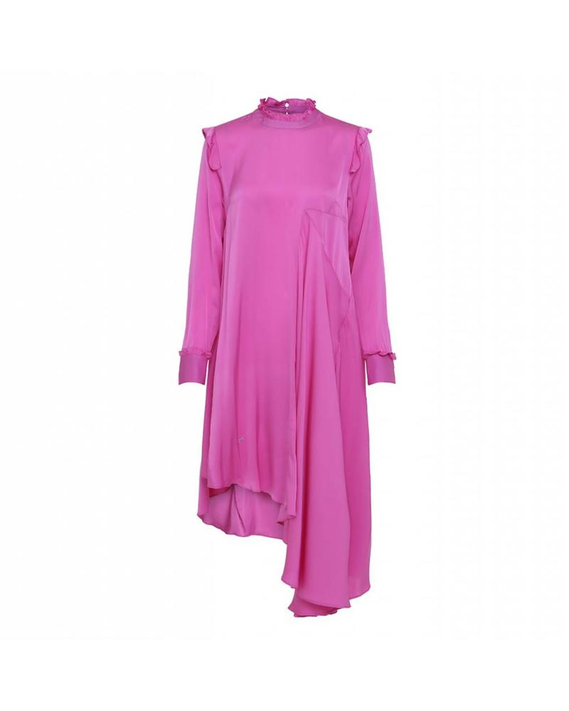 Julie Fagerholt Haya dress - Bright Pink