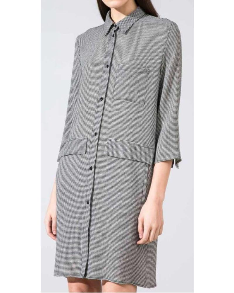 Margaux Lonnberg Kheira Robe - Grey Check