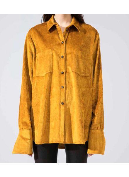 Margaux Lonnberg Jerrod shirt - Velvet Mustard