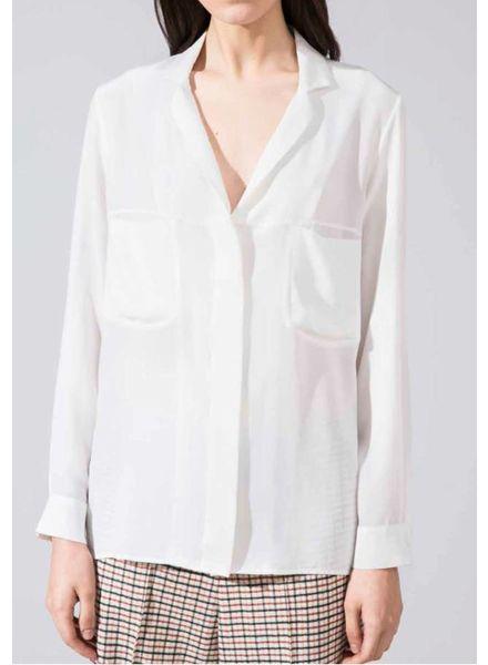 Margaux Lonnberg Gaspard chemise - White