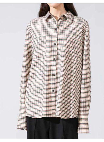 Margaux Lonnberg Jerrod shirt - Off white Check