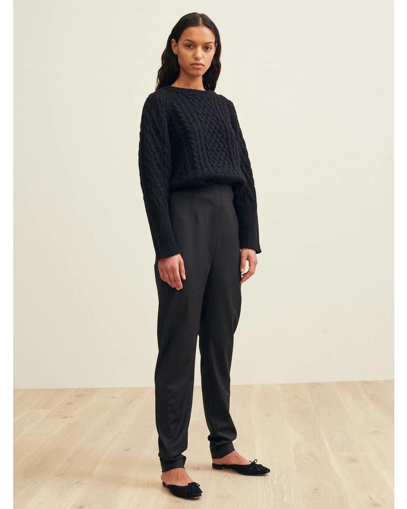 Totême Vieste trousers - Black