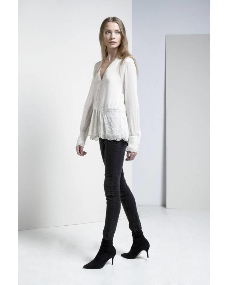 Magali Pascal Allegra top - Dusty White