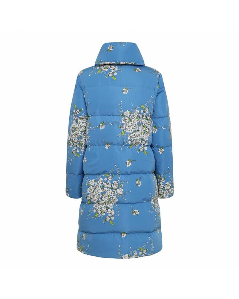 Julie Fagerholt Ceni coat - White / Blue Print