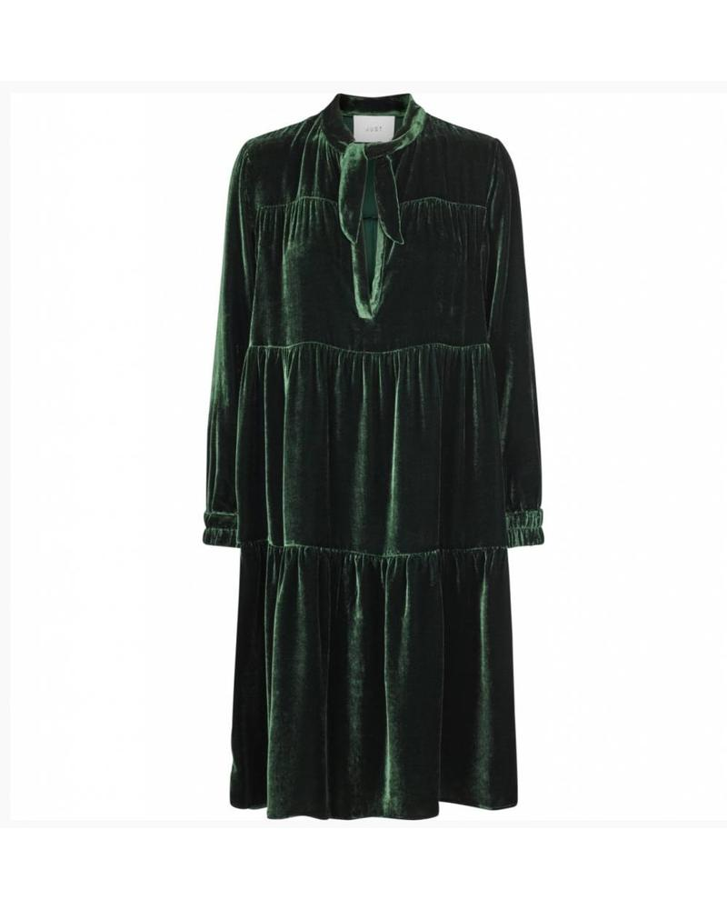 Just Female Juliette maxi dress - Pine grove