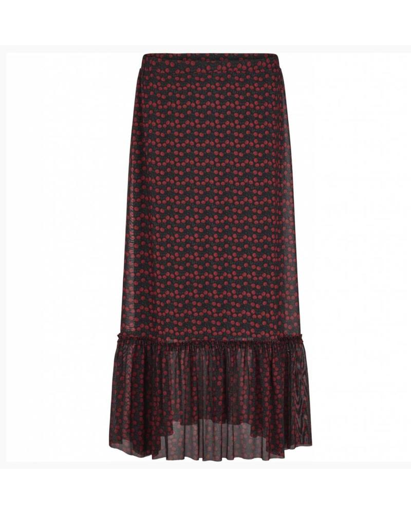 Just Female Alley maxi skirt - Tiny Rose