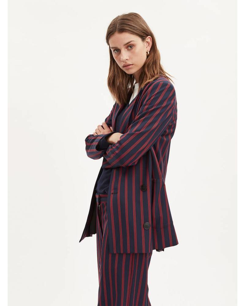 Libertine Libertine Shift Blazer - Red stripe